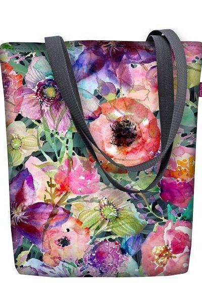 Taška s kvetinovým vzorom