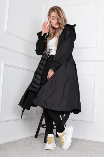 Kabát s rozšíreným dnom