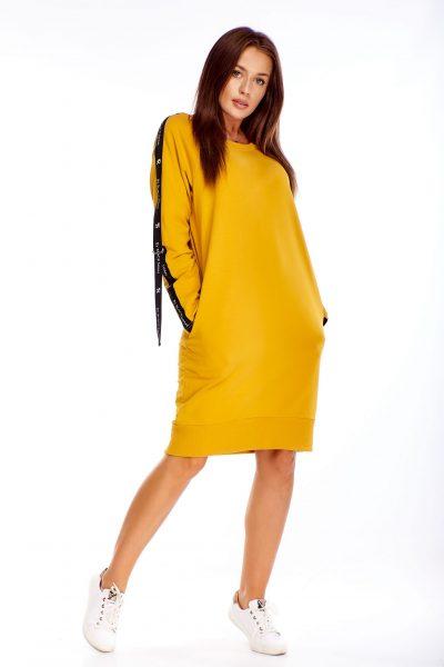 Dámske mikinové šaty