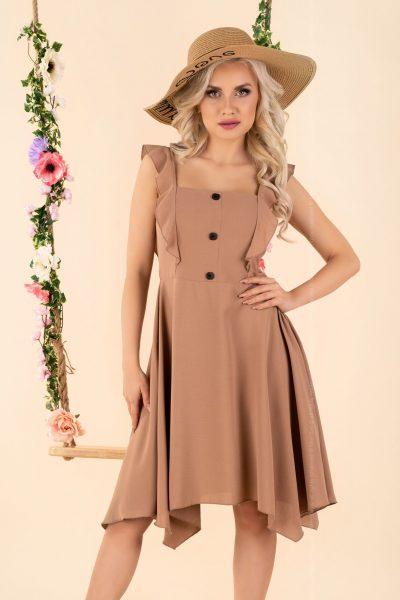 Voľné dámske šaty