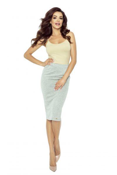 Dámska sukňa s vysokým pásom