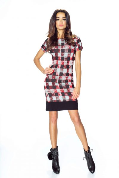Kostkované šaty