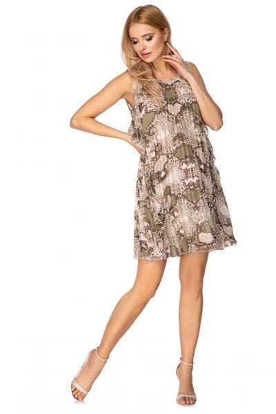 Dámske skladané šaty
