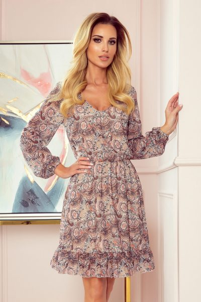 Dámske vzorované šaty