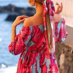 Dlhé vzdušné šaty KLARA