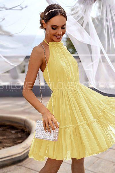 Krátke mini šaty