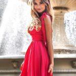 Šaty Shakira  s ramienkami na viazanie