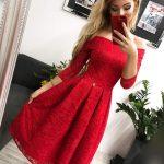 Elegantné šaty Scarlet