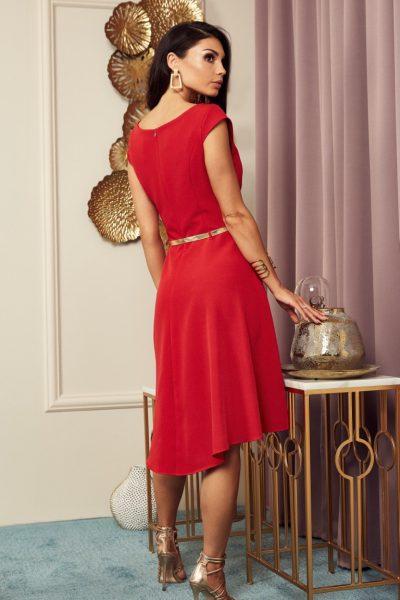 Krátke šaty s opaskom Karen