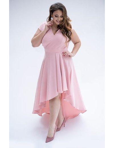 Asymetrické šaty Valentína