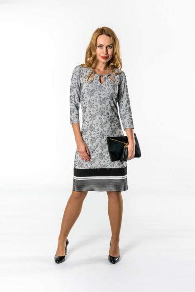 Vzorované šaty – M01