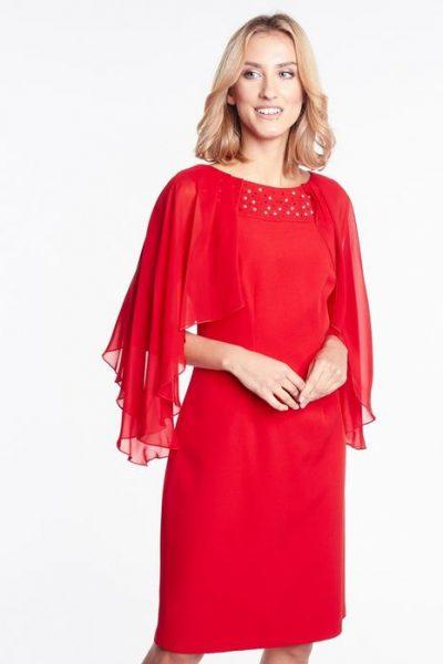 Krátke puzdrové spoločenské šaty -N08