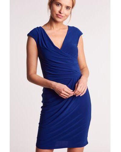 Krátke puzdrové šaty -N04