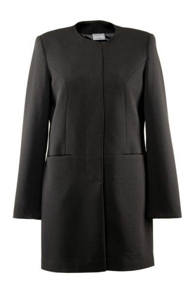 Jarný kabát -čierny
