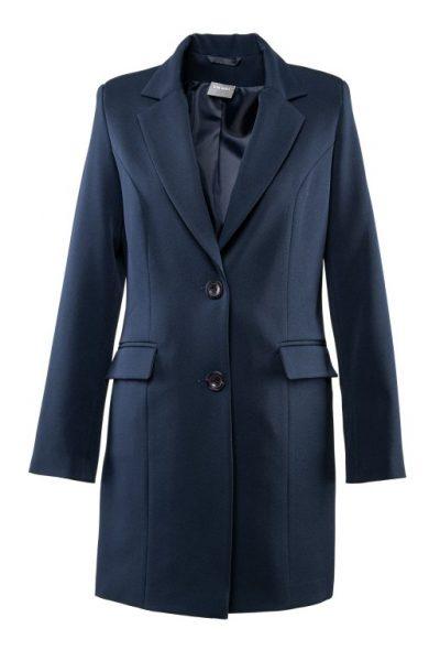 Jarný kabát – tmavomodrý