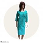 Spoločenké šaty s krajkou