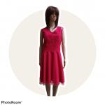 Krátke spoločenké šaty INFINITY 520