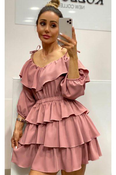 Krátke šaty Luxia